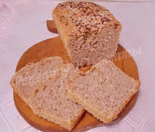 рецепт хлеба из гречневой муки