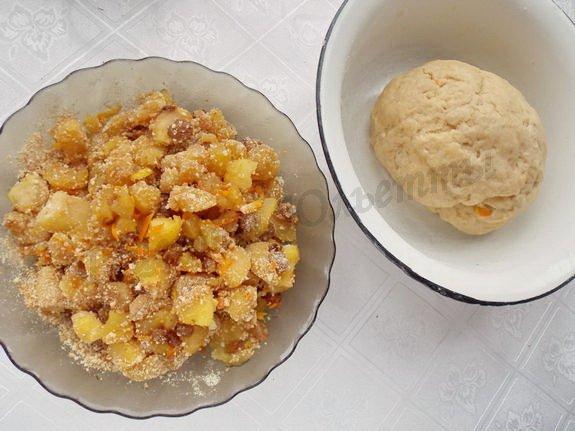 начинка и тесто для пирожков милопитакья