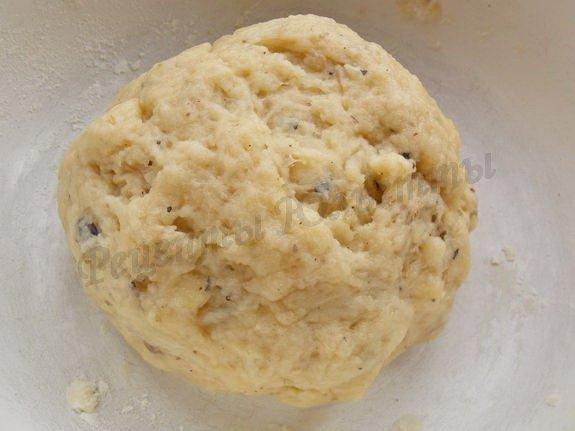 тесто для бездрожжевых постных солёных пирожков