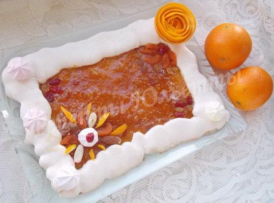 мазурек апельсиновый