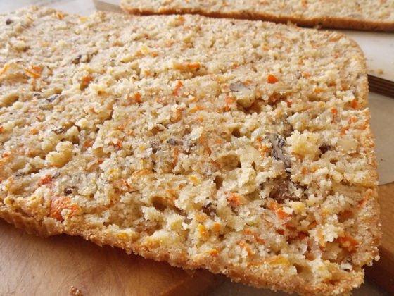 морковно-ореховый корж