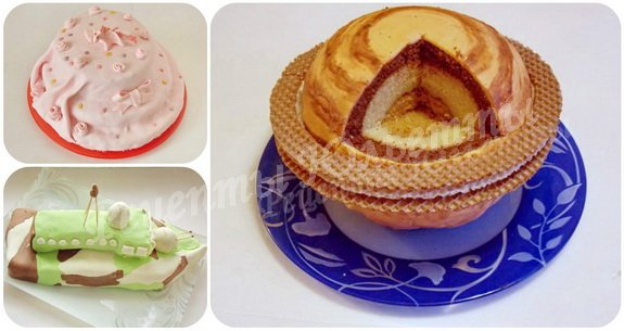 домашние торты с мастикой