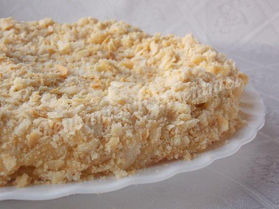 вкусный домашний торт Наполеон