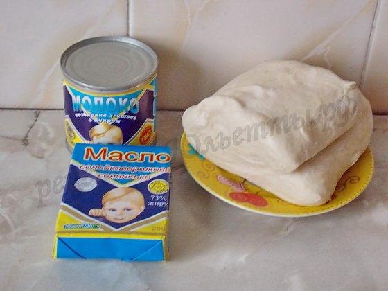 ингредиенты для слоёных пирожных