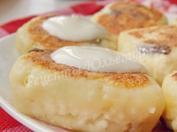 Как приготовить сырники из творога без яиц пошаговый рецепт с