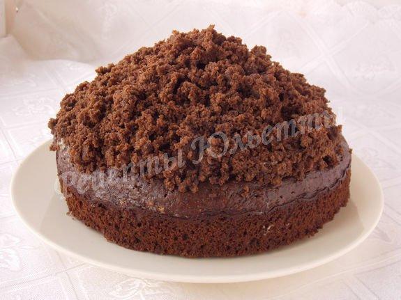 рецепт торта норка крота