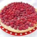 малиновый тарт с заварным кремом