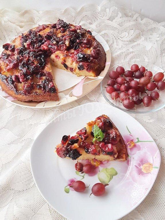 рецепт крыжовенного пирога