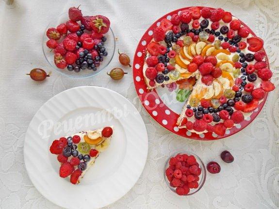 творожно-ягодная запеканка