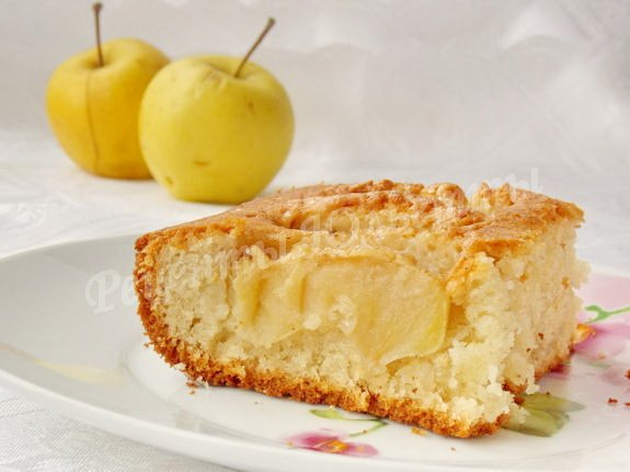 пирог яблочная волна