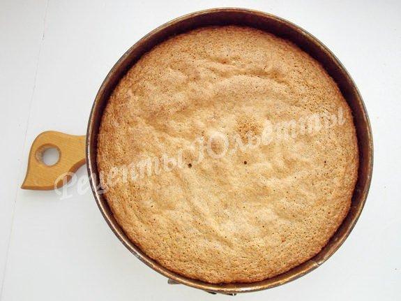 выпекаем маково-ореховый бисквит