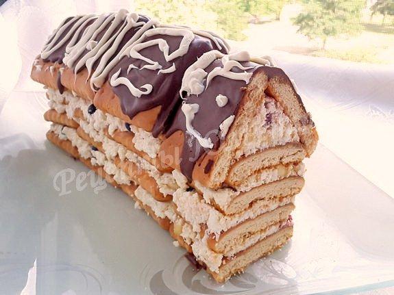 десерт домик
