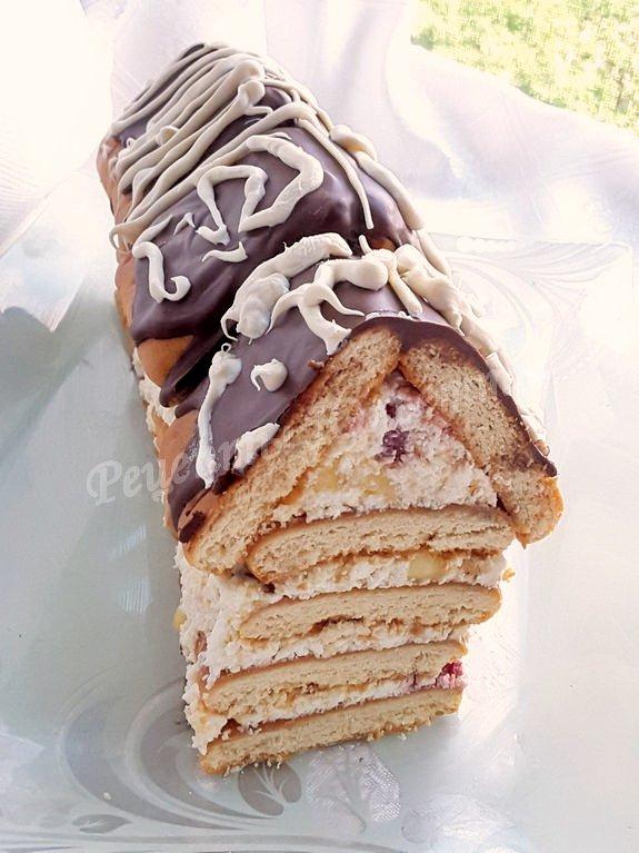 творожный десерт домик