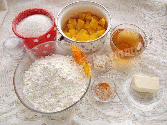ингредиенты для десертного хлеба