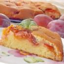 перевёрнутый пирог со сливами