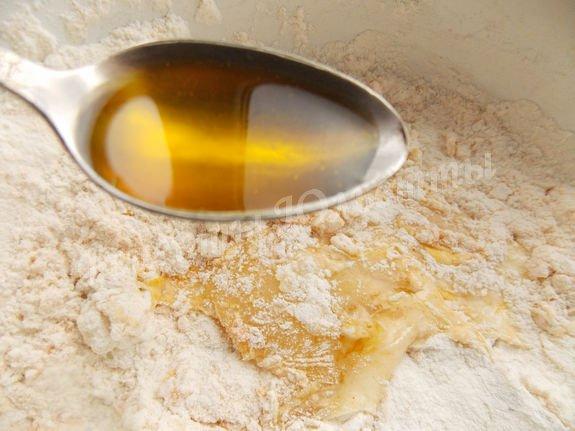 добавляем горчичное масло