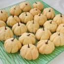рецепт печенья в виде тыквы