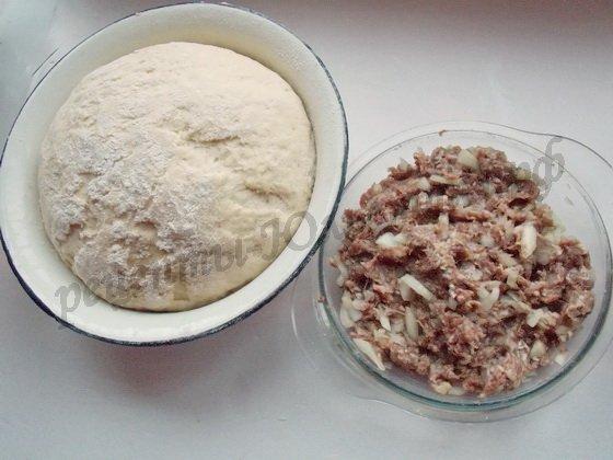 подготовим начинку и тесто