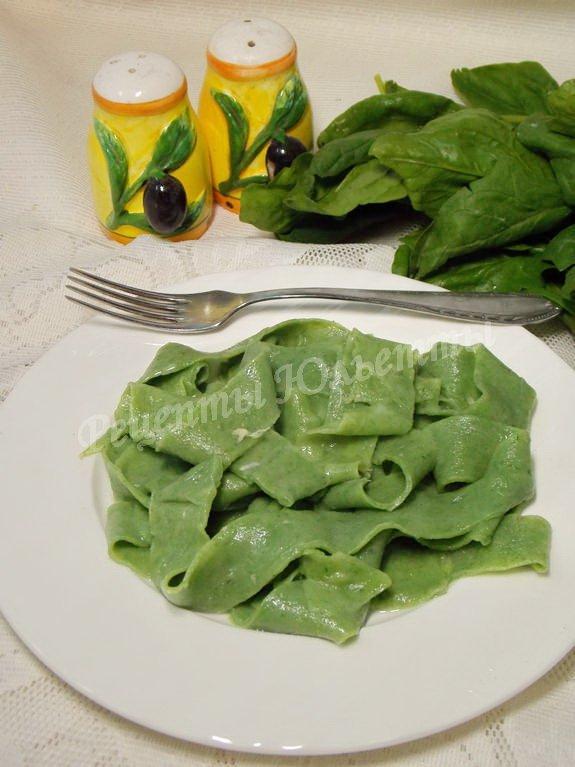 зелёная лапша