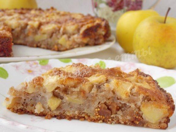 сицилийский яблочный пирог