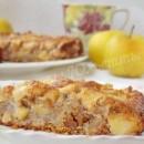 инжирно-яблочно-ореховый пирог