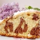 леопардовый кекс