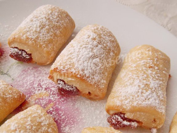 печенье фруктовые полоски