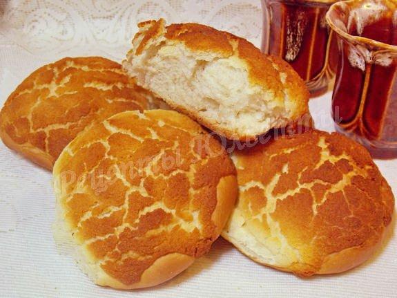 тигровые булочки с рисовой мукой