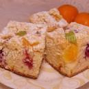 фруктовый пирог на минералке