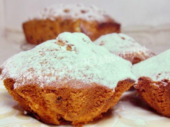 вкуснейшие кексы с изюмом