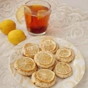 рецепт песочного печенья с лимоном