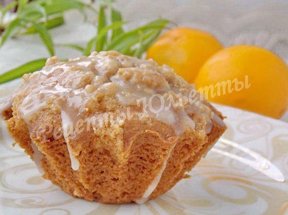лимонный кексик