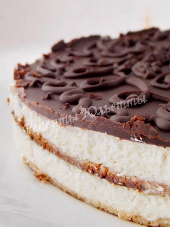 рецепт торта Птичье молоко