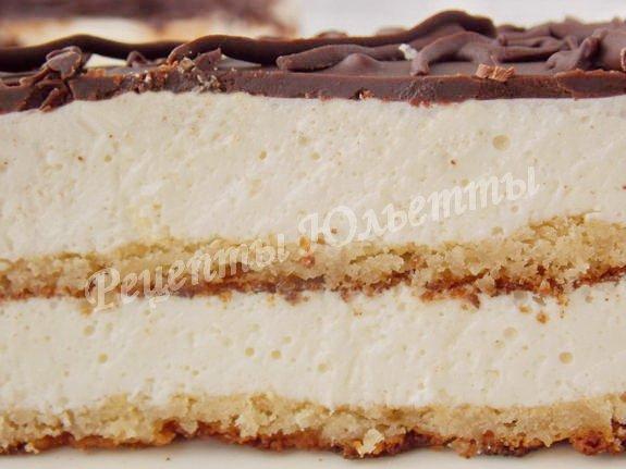 классический торт Птичка