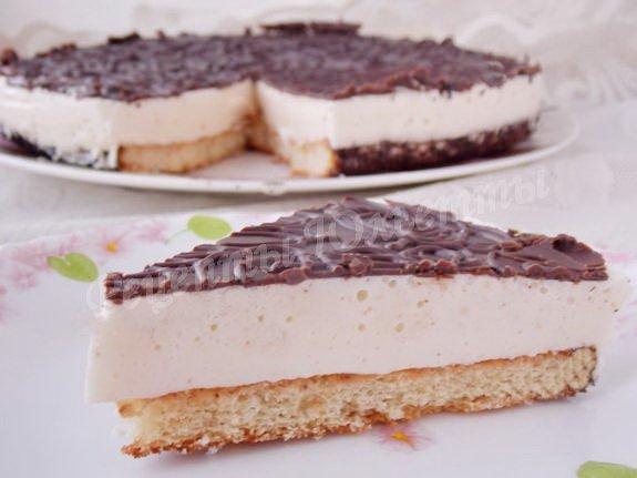 торт птичье молоко меньше сахара