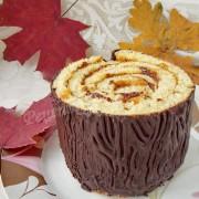 бисквитный торт пенёк
