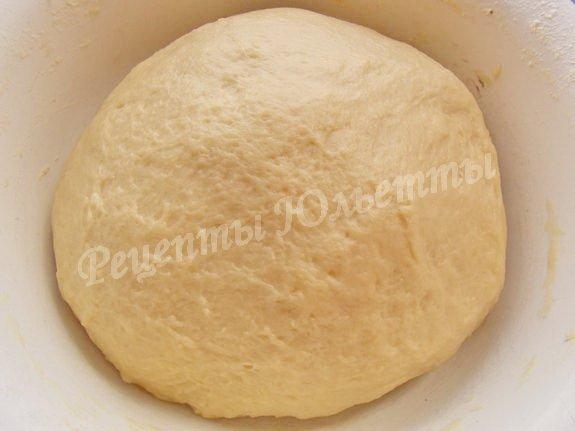 тесто для сливочного хлеба