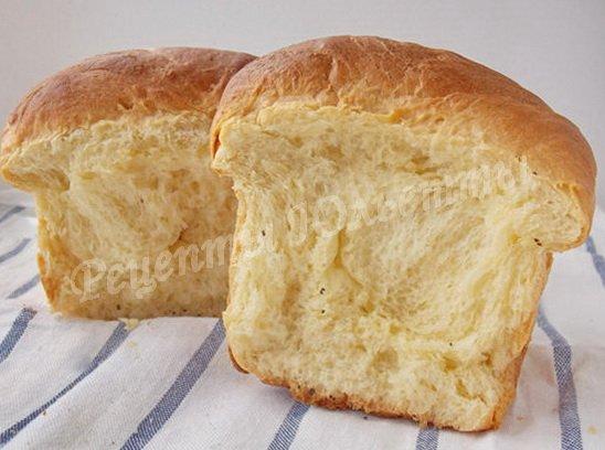 сливочный хлеб хоккайдо