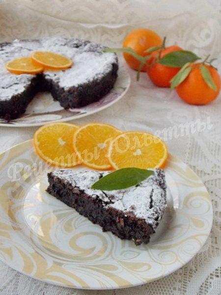 рецепт шоколадного торта без муки