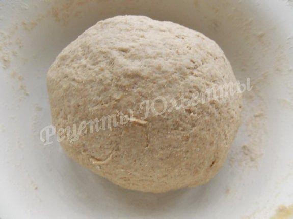 тесто для домашнего хлеба