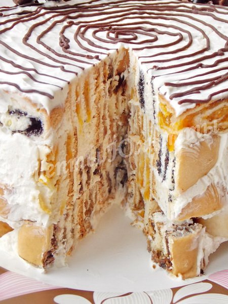 оригинальный и красивый тортик