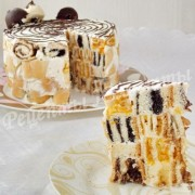 рецепт торта лабиринт
