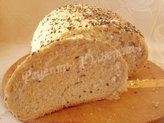 вкусный и полезный домашний хлебушек