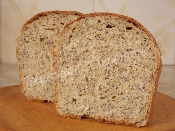 хлеб со спельтой и маком