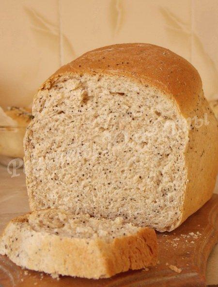 вкусный хлеб из полбяной муки