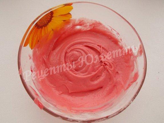 розовое тесто
