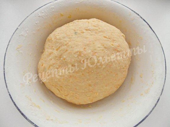 тыквенно-творожное тесто