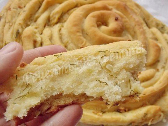 рецепт вкусного хлеба с чесноком