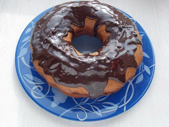 кекс шоколадно-малиново-маковый