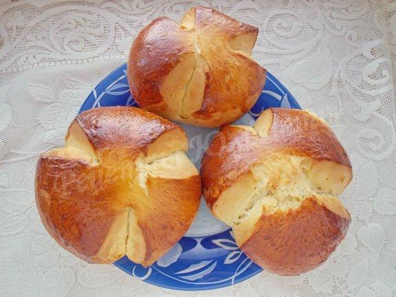 рецепт австрийского пасхального хлеба